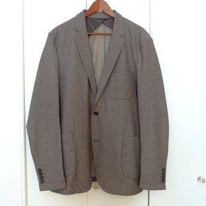 Frank + Oak Men's Jacket in Light Gray (NWOT)